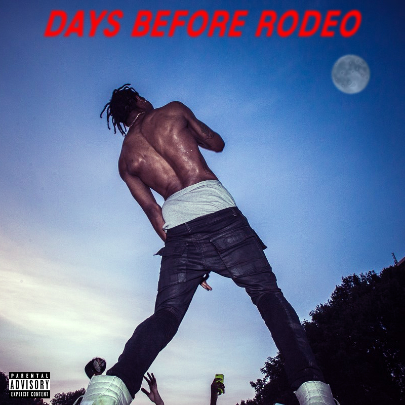 travis scott days before rodeo