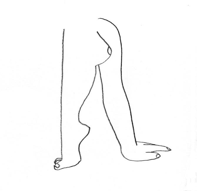 ines longevial leg hand